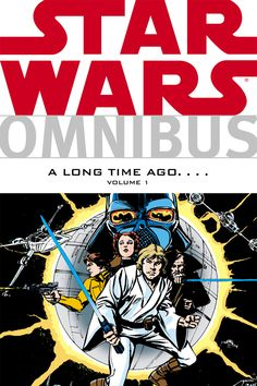 Star Wars Omnibus: A Long Time Ago.... Volume 1 is a Star Wars Omnibus-series trade paperback collecting the first twenty-seven issues of the Marvel Star Wars comic book series. Collecting the first twenty-six [sic] issues of the Marvel Comics Star Wars series that launched in 1977 (the same year as the first film), this first volume of Star Wars Omnibus: A Long Time Ago... is a must have for any Star Wars fan!