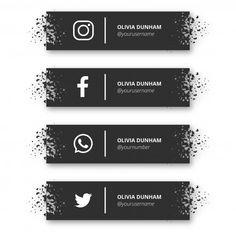 Social Media Buttons, Social Media Banner, Social Media Logos, Picture Logo, Photo Logo, Business Cards Layout, Business Card Design, Icon Design, Logo Design