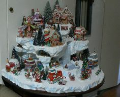 Christmas Village Ideas | Lemax christmas village | Christmas ideas