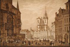 Staroměstské Náměstí před r. 1835