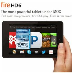 Win a Kindle Fire HD 6