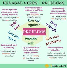 Phrasal Verbs: Problems
