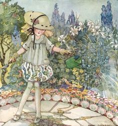 Mistress Mary, quite contrary, How does your garden grow? (Anne Anderson)