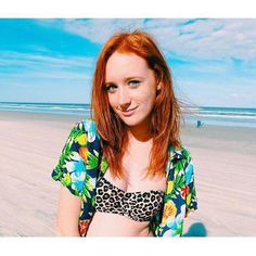 """Sierra is theonly natural redhead in her family and one of three at her school. """"Feeling like a minority can feel isolating,"""" she says. """"But, I have learned to embrace my hair and"""