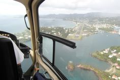 St Lucia helicopter approaching Castries - Top 10 things to do in St Lucia Countries Around The World, Around The Worlds, Holiday Destinations, Travel Destinations, Famous Twins, Dream Of Getting Married, Southern Caribbean, Saint Lucia, Turquoise Water