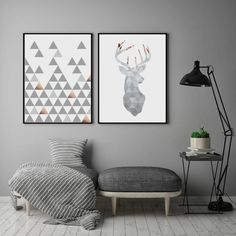 Modern Abstract Artwork Set, Cream Blue Beige Set, Minimalist Wall Art, Nordic Abstract Home, Minima Geometric Wall Art, Geometric Shapes, Nursery Prints, Wall Art Prints, Ikea, Grey Art, Modern Art Prints, Drawing, Easy