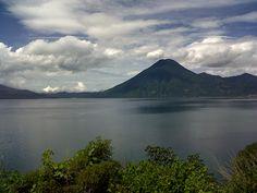 Atitlan lake.