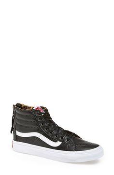 Vans 'Sk8-Hi Slim Zip' Sneaker available at #Nordstrom