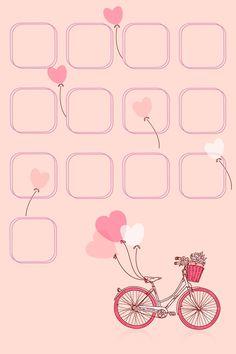 Wallpaper | Papel de Parede |  #amor #Romantic #Romântico  #adorável #amor #love #Bicicleta  #bike #bicycle #cycle #vélo #coração #cute #fofo #lovely #charming