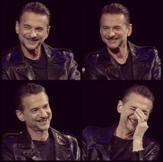 Cutest smile ever ❤ Dave Gahan, March 8th, 2017.