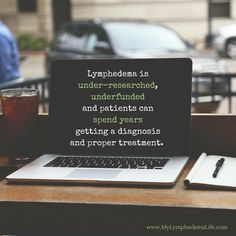 Lymphedema is...