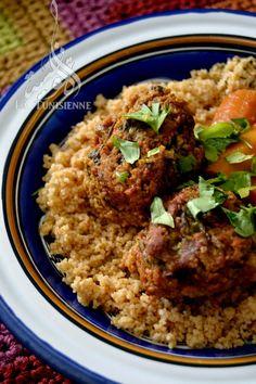 Couscous aux boulettes d'aneth – Chebtiya | La Tunisienne
