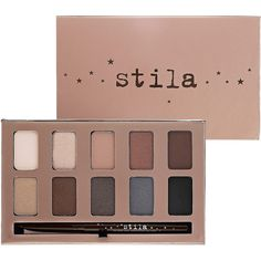 stila In The Light Palette (75 SAR) ❤ liked on Polyvore featuring beauty products, makeup, eye makeup, eyeshadow, beauty, eyes, matte eye shadow, mac eyeshadow, matte eyeshadow and eye shimmer makeup