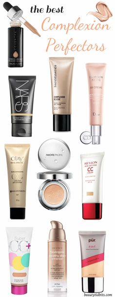 Want complexion perfection? These pore-blurring, shine-erasing, skin-evening perfectors will help you on your way to flawlessness when totally perfect skin is in order!