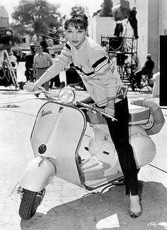 Elsa Martinelli ride
