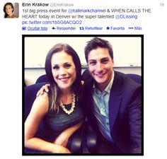 Daniel Lissing And Erin Krakow Favorite Couples Daniel