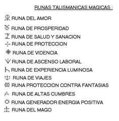 Descripcion de algunas runas
