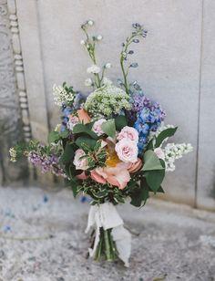 peony garden bouquet