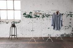 Vintage Eighth Ave Garment Loft Racks : Factory 20