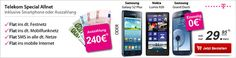 Telekom Allnet Flat mit 240€ Auszahlung oder Smartphone ohne Zuzahlung