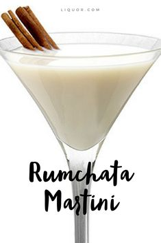 Sit back + relax with this Rumchata Martini recipe. - Sit back + relax with this Rumchata Martini recipe. Brandy Cocktails, Fruity Cocktails, Wine Cocktails, Bar Drinks, Cocktail Drinks, Cocktail Recipes, Alcoholic Drinks, Drinks With Rumchata, Rumchata Recipes