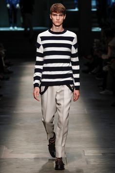 Ermenegildo Zegna - Men Fashion Spring Summer 2015 - Shows - Vogue.it