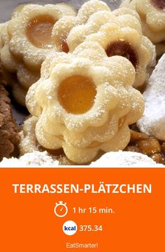 Terrassen-Plätzchen - smarter - Kalorien: 375.34 kcal - Zeit: 1 Std. 15 Min. | eatsmarter.de