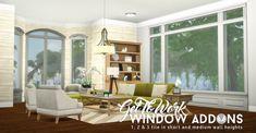 Simsational designs: Window Addons • Sims 4 Downloads