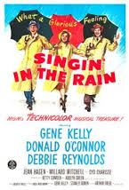 Singing in the Rain Directed by Stanley Donen, Gene Kelly. With Gene Kelly, Donald O'Connor, Debbie Reynolds, Jean Hagen. A silent film production company and cast make a difficult transition to sound. The Rain Movie, Singing In The Rain, Love Movie, I Movie, Happy Movie, Happy Song, Movie Blog, Movie Stars, Donald O'connor