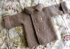 Mini-manteau de bébé garçon taille 3 mois