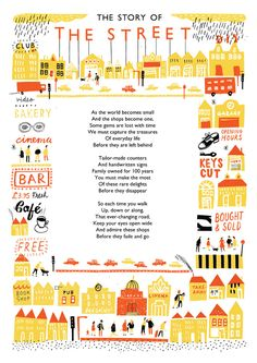 The Street - Louise Lockhart | Illustration | Design | The Printed Peanut