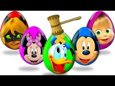 Learn Colors With Mickey Mouse Clubhouse McQueen Cars | Learn Colors Collection Video For Kids - YouTube