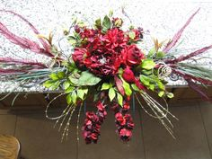 headstone flowers - Google Search