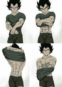 I am totally in love with the way VEGETApsycho draws Vegeta ❤❤❤ Source: DeviantArt - VEGETApsycho Hot Anime Boy, Anime Guys, Fan Art, Comics Anime, Character Art, Character Design, Dbz Characters, Dragon Images, Anime Lindo