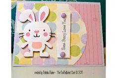 The EmBellished Card: *Cricut Create a Critter rabbit