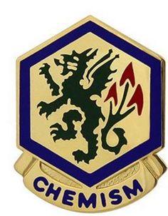 415th Chemical Brigade Unit Crest (Chemism)