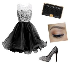 """""""Unitled #13"""" by whiteblake ❤ liked on Polyvore featuring Charlotte Russe and Chanel"""