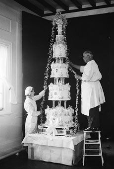 cake for the Duke of Kent and Princess Marina of Greece (1934)