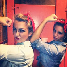 Rose the Riveter costume