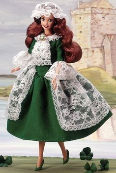 1995 Irish Barbie® 2nd Edition | Barbie Dolls of the World Collection *DOLLS OF THE WORLD