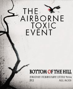 GigPosters.com - Airborne Toxic Event, The