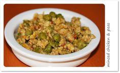Toddler Minced chicken & peas (Rich in protein)