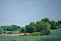 """KURT MOYER in """"Contemplating Nature > WORKS BY FOUR CONTEMPORARY PAINTERS"""" > at Axom Gallery"""
