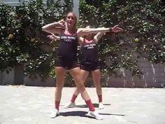 APUCheer Sideline Dances 2015-2016 - YouTube