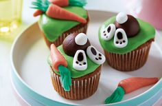 Easter bunny cupcakes | Tesco Real Food
