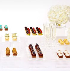 mini desserts make me happy