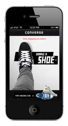 The Sampler By CONVERSE - Augmented Reality iPhone App - Freshness Mag
