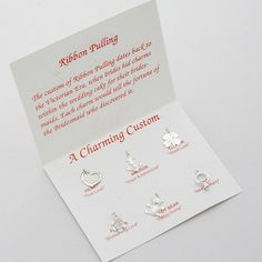 Wedding Cake Charm Pulls - Cake Pulling Charms $21.50