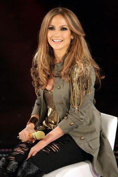 Jennifer Lopez Wears Balmain, 2010