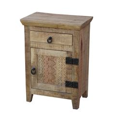 Enhance your living space or bedroom with this beautiful bedside table, handcrafted from reclaimed wood. This stylish bedside table has classic lines and fine craftsmanship.